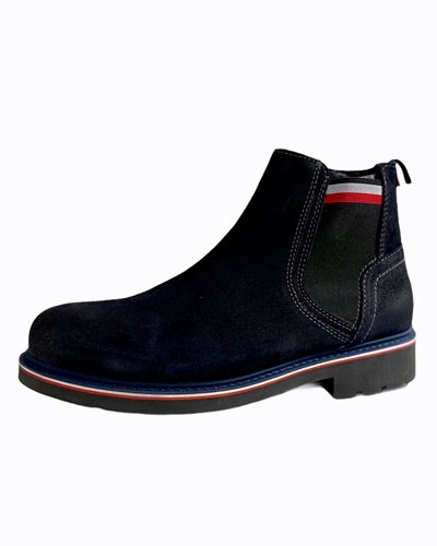 TOMMY Corporate Elastic Suede Boot
