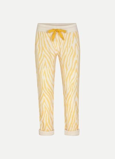 JUVIA Devore Zebra Trousers Turn-up