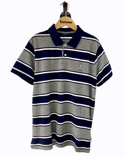 GANT D1. Bold Stripe SS Pique Herren