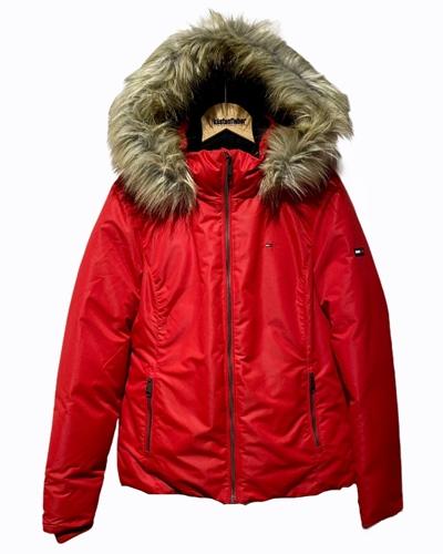 TOMMY JEANS Hooded Down Jacket Damen