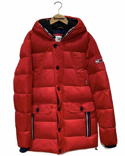 TOMMY JEANS Mixed Fabric Jacket