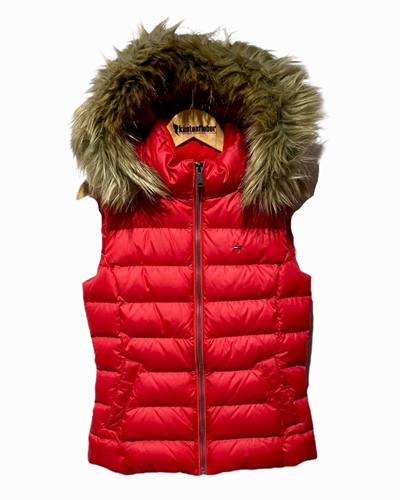 TOMMY JEANS Essential Hooded Vest Damen