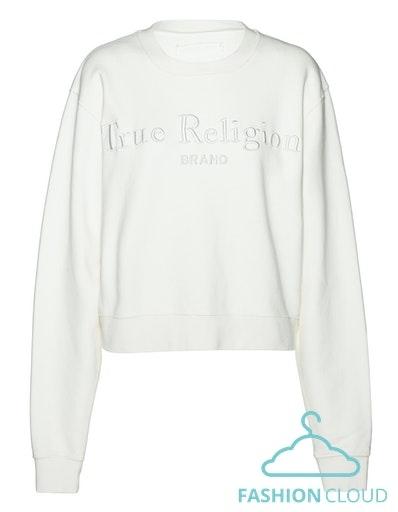 TRUE RELIGION Sweatshirt Boxy Crew Damen
