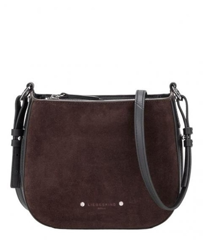 Double Pipe Suede /Crossbody Medium
