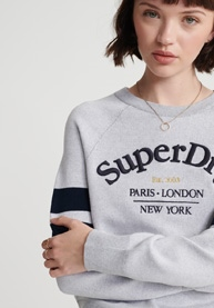 SUPERDRY Pullover Amy Logo Knit