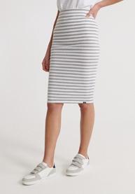 SUPERDRY Rock Summer Pencil Skirt Damen